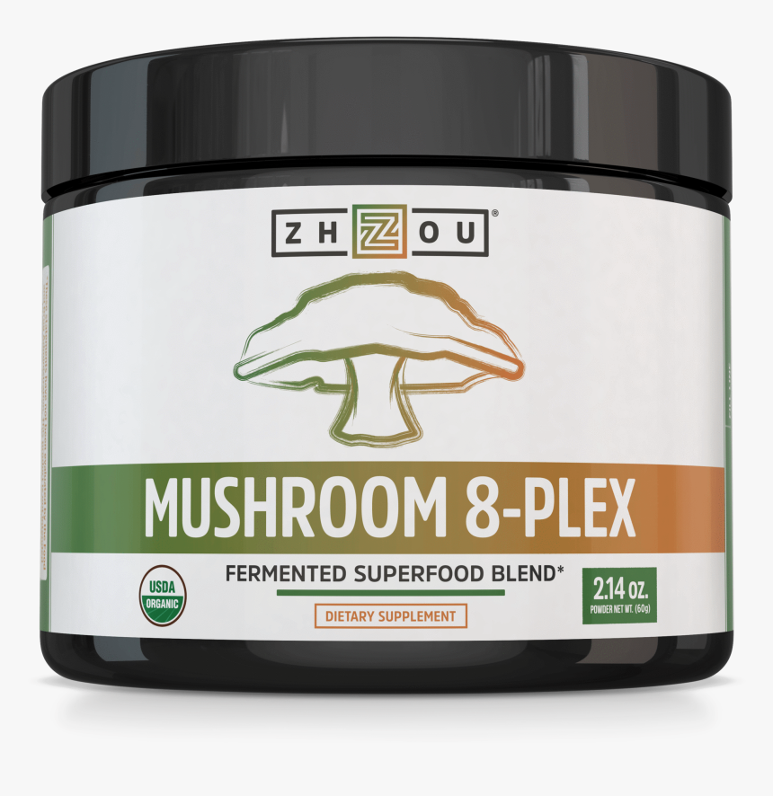 """Mushroom 8 Plex""""  Class=""""lazyload Lazyload Fade In - Exogenous Ketone, HD Png Download, Free Download"""