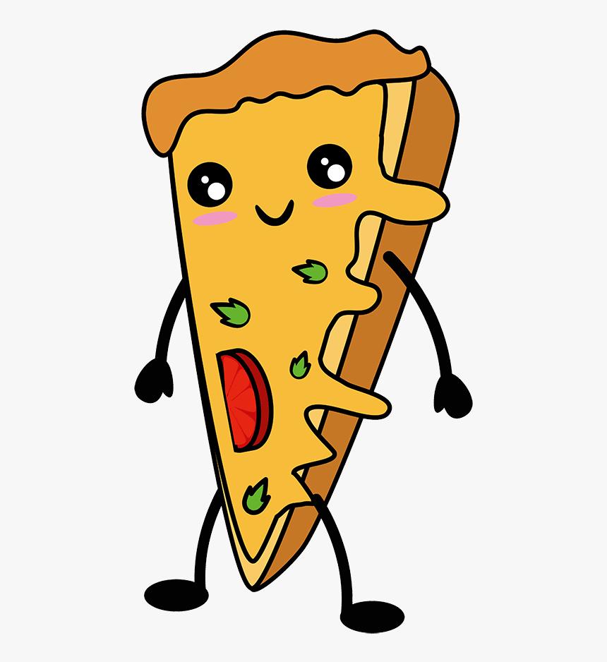 Dibujo Pizza Kawaii Png Pizza Kawaii Png Transparent Png