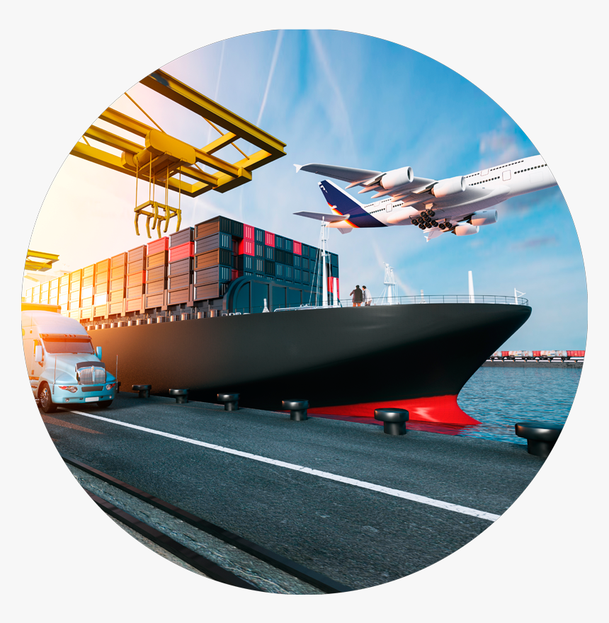 Air Freight And Container Shipping Hd Png Download Kindpng