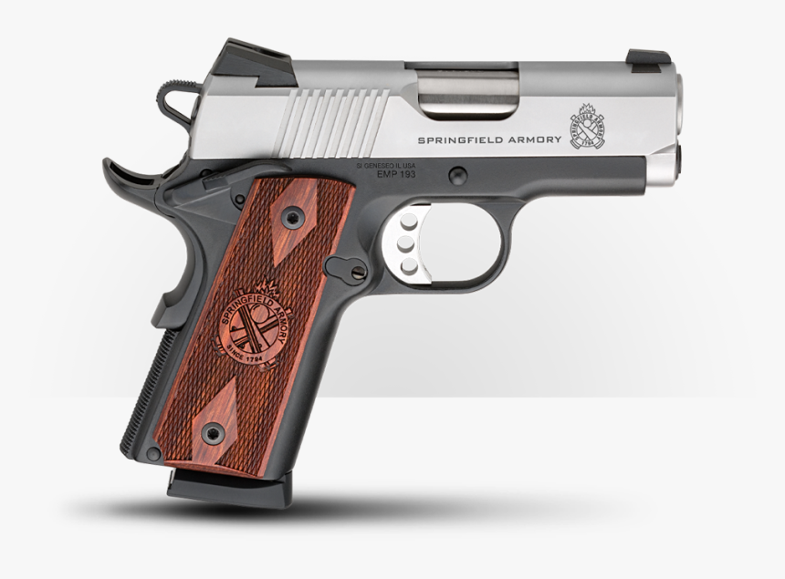 Springfield Emp 1911 9mm Review, HD Png Download, Free Download
