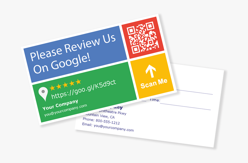 Picture - Review Us On Google Cards, HD Png Download - kindpng