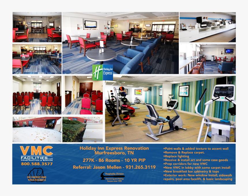 Holiday Inn Express Renovation - Holiday Inn Express Formula Blue Breakfast, HD Png Download, Free Download