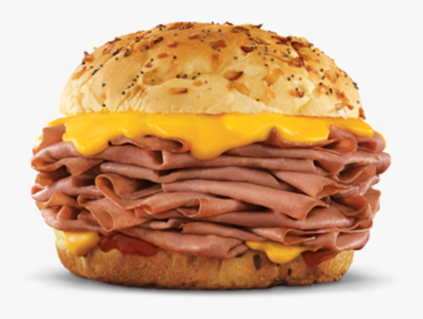"Arby""s Sandwich - Arby's Roast Beef Sandwich With Cheese, HD Png Download, Free Download"