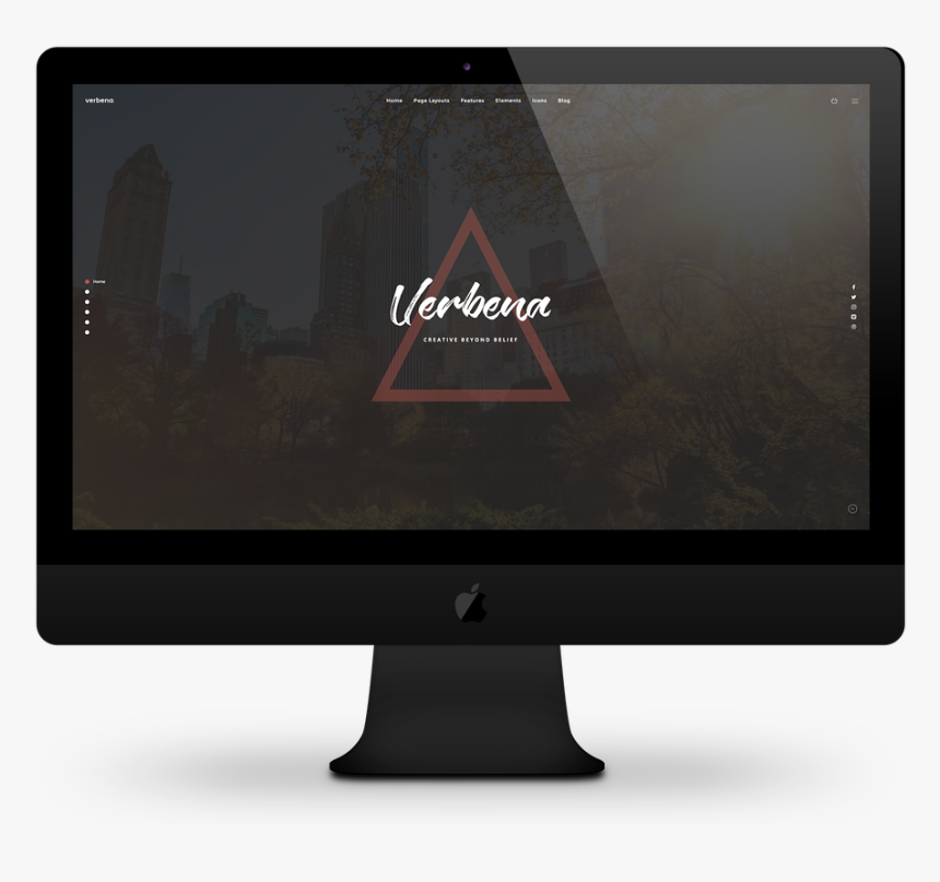Architect Weebly Template - Computer Monitor, HD Png Download, Free Download