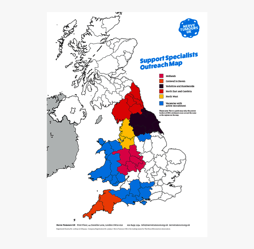 England Map - European Elections 2019 Uk Results, HD Png Download, Free Download