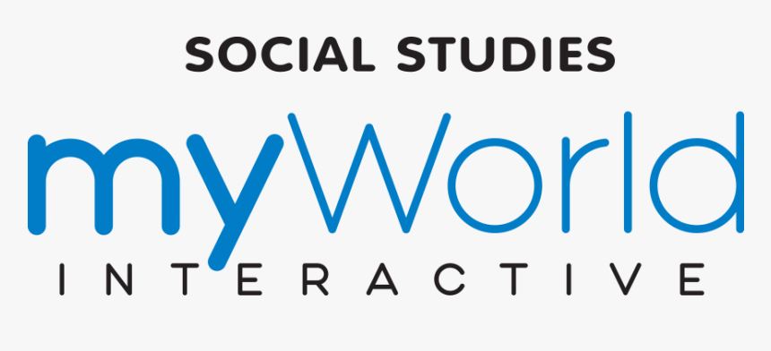 Myworld Interactive Social Studies, HD Png Download, Free Download