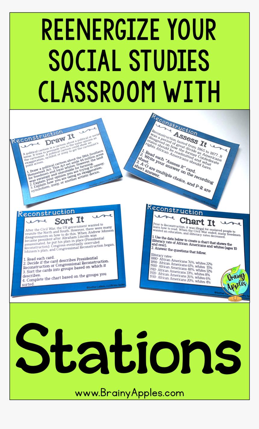 High School Social Studies Classroom Ideas, HD Png Download, Free Download