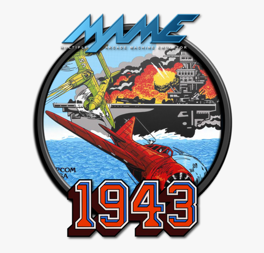 Mame - 1943 - 1943 Arcade Game Posters, HD Png Download, Free Download