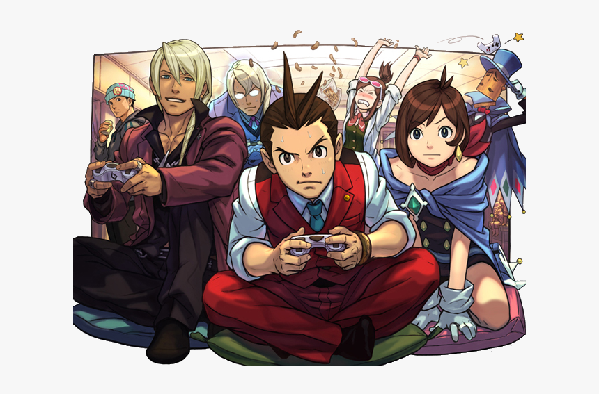 Apollo Justice Ace Attorney Official Art Hd Png Download Kindpng