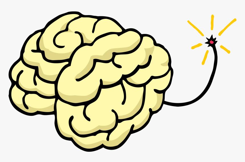 Understanding The Itchy Tween Brain - Cartoon Brain In A Jar, HD Png Download, Free Download