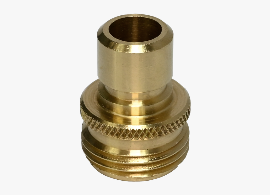 Brass Garden Hose Male Quick Disconnect, Ghqc-m - Brass, HD Png Download, Free Download