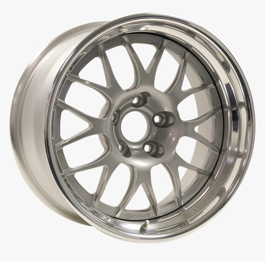 Forgeline Gw3r Finished With Silver Center And Polished - Matte Bronze Esr Sr11, HD Png Download, Free Download
