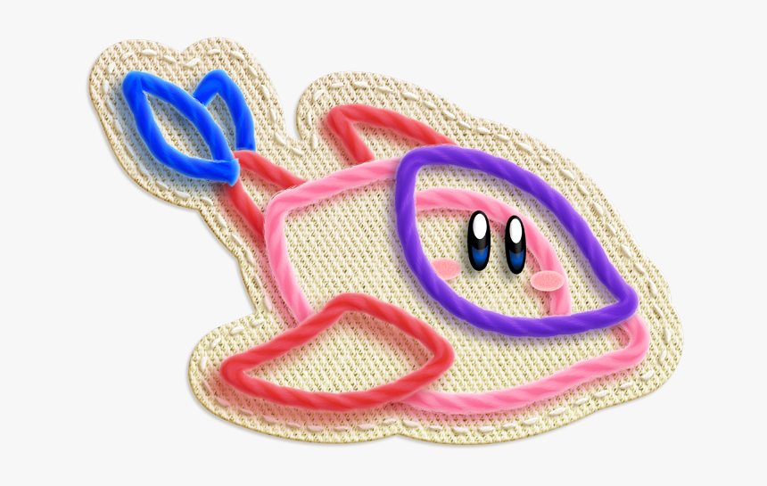 Kirby's Epic Yarn Dolphin, HD Png Download, Free Download