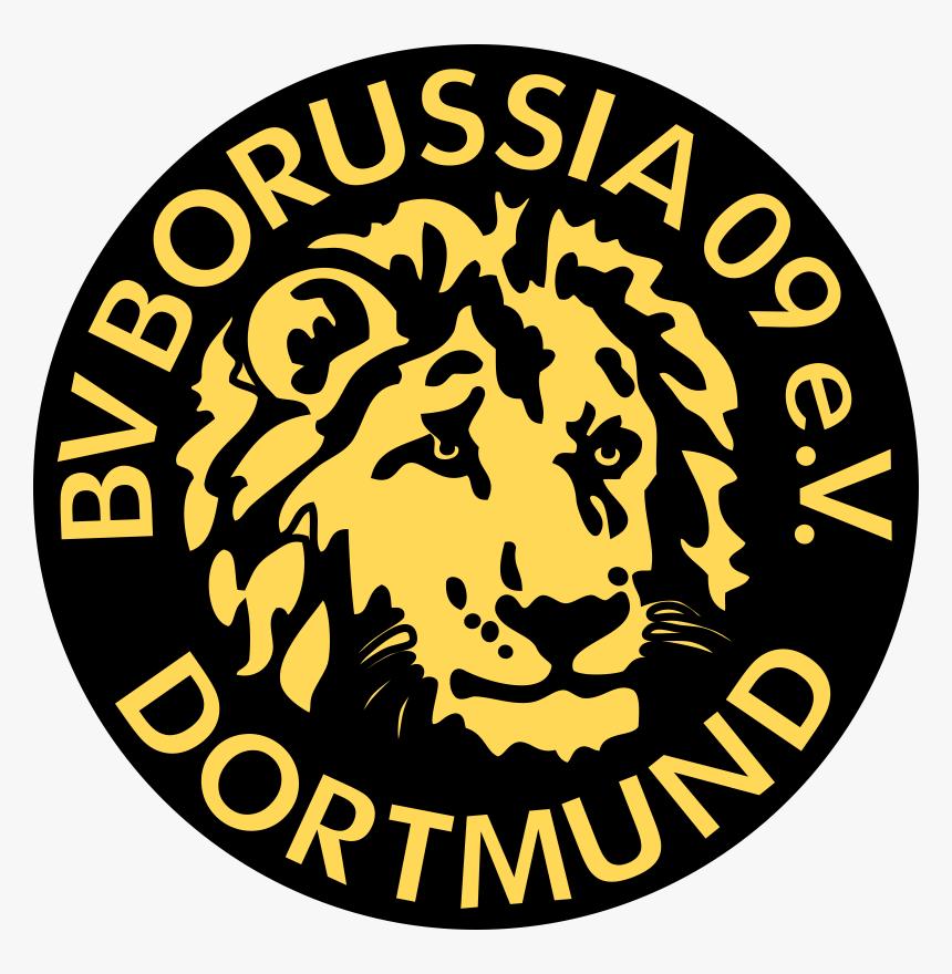 Borussia Dortmund Old Logo Png Download Borussia Dortmund Logo 1976 Transparent Png Kindpng