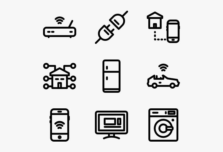 Transparent Background Internet Of Things Icon Hd Png Download Kindpng