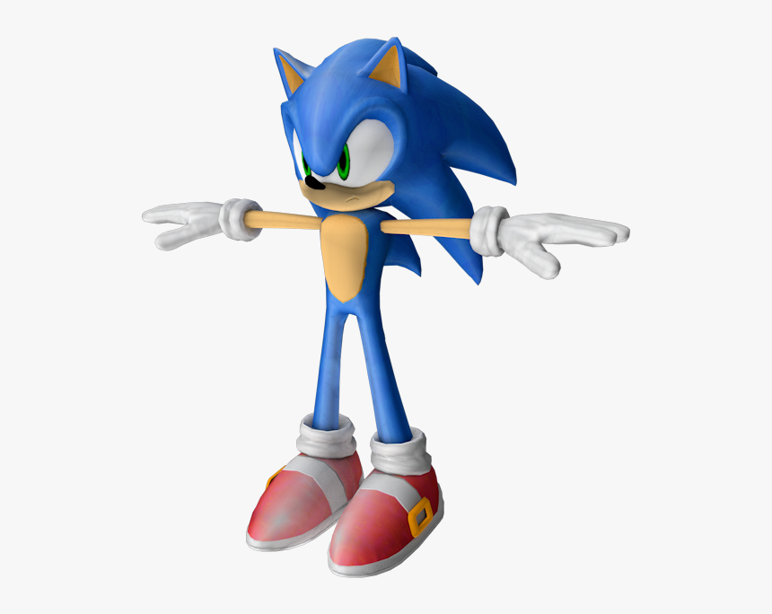 Sonic The Hedgehog 2006 Sonic Hd Png Download Kindpng