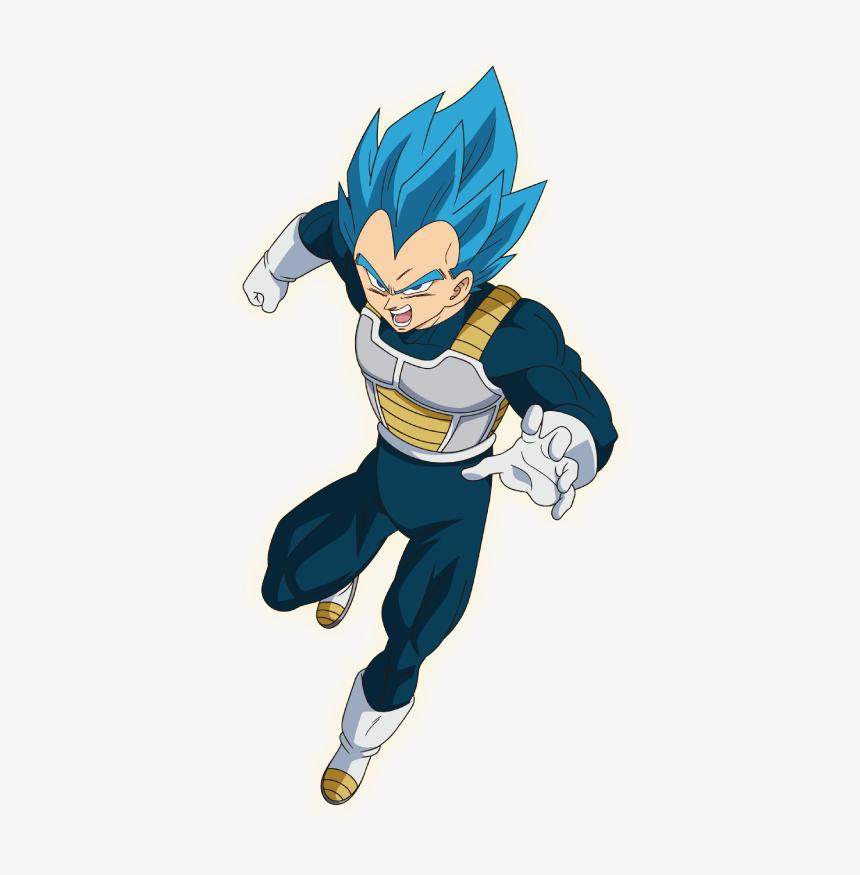 Vegeta Ssj Blue Dragon Ball Super Broly, HD Png Download, Free Download
