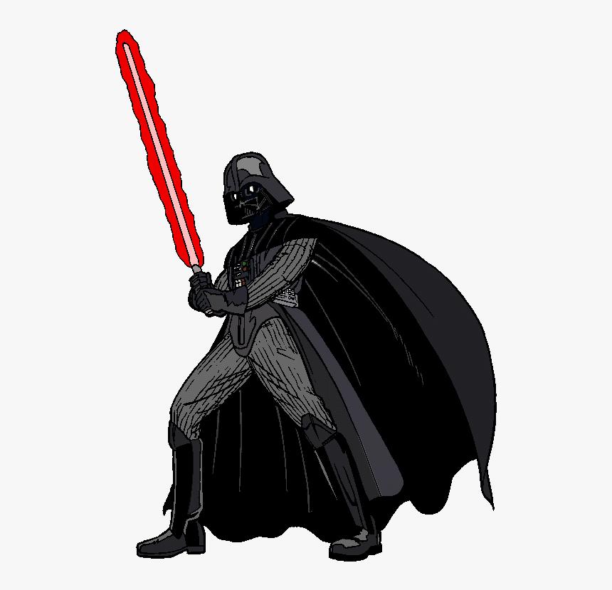 Star Wars Clip Art For Kids Free Clipart Images - Darth Vader Cartoon Png, Transparent Png, Free Download