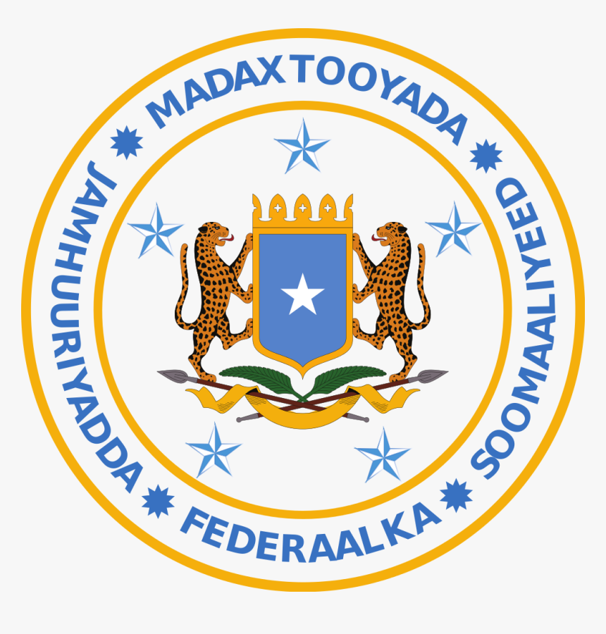 Seal Of The President Of The Federal Republic Of Somalia - Somalia, HD Png Download, Free Download
