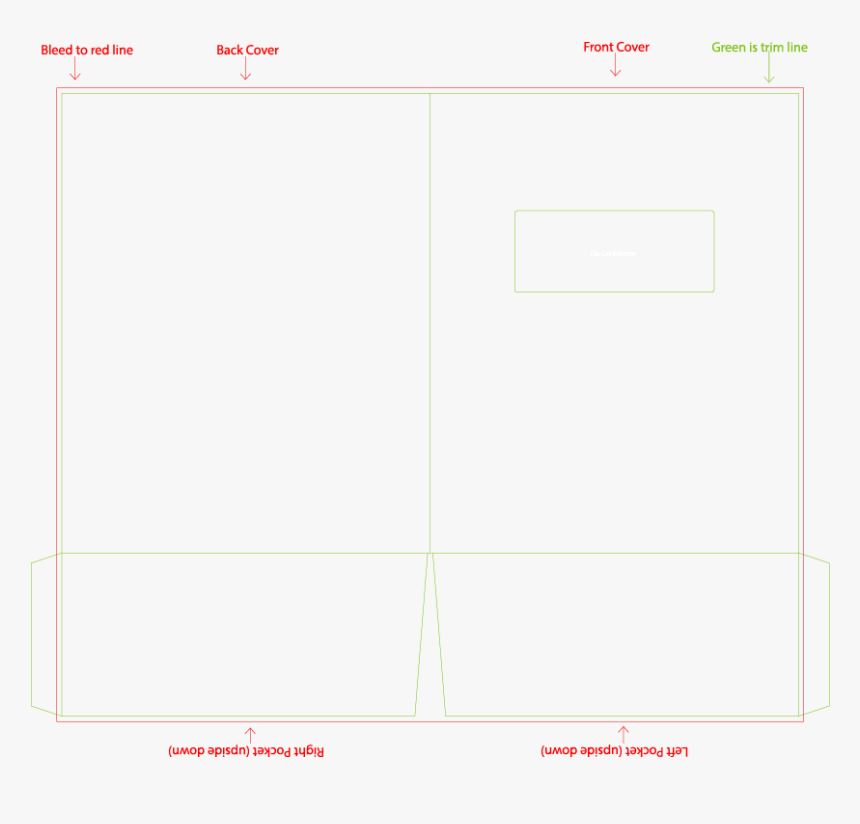 9 X 12 Presentation Folder Template - Slope, HD Png Download, Free Download