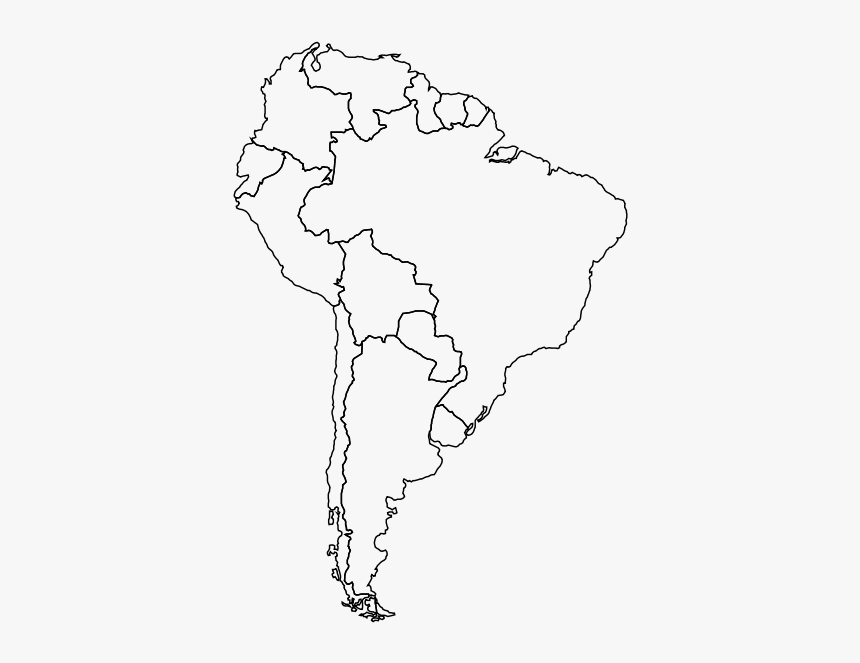 This is a graphic of South America Printable Map with regard to geography