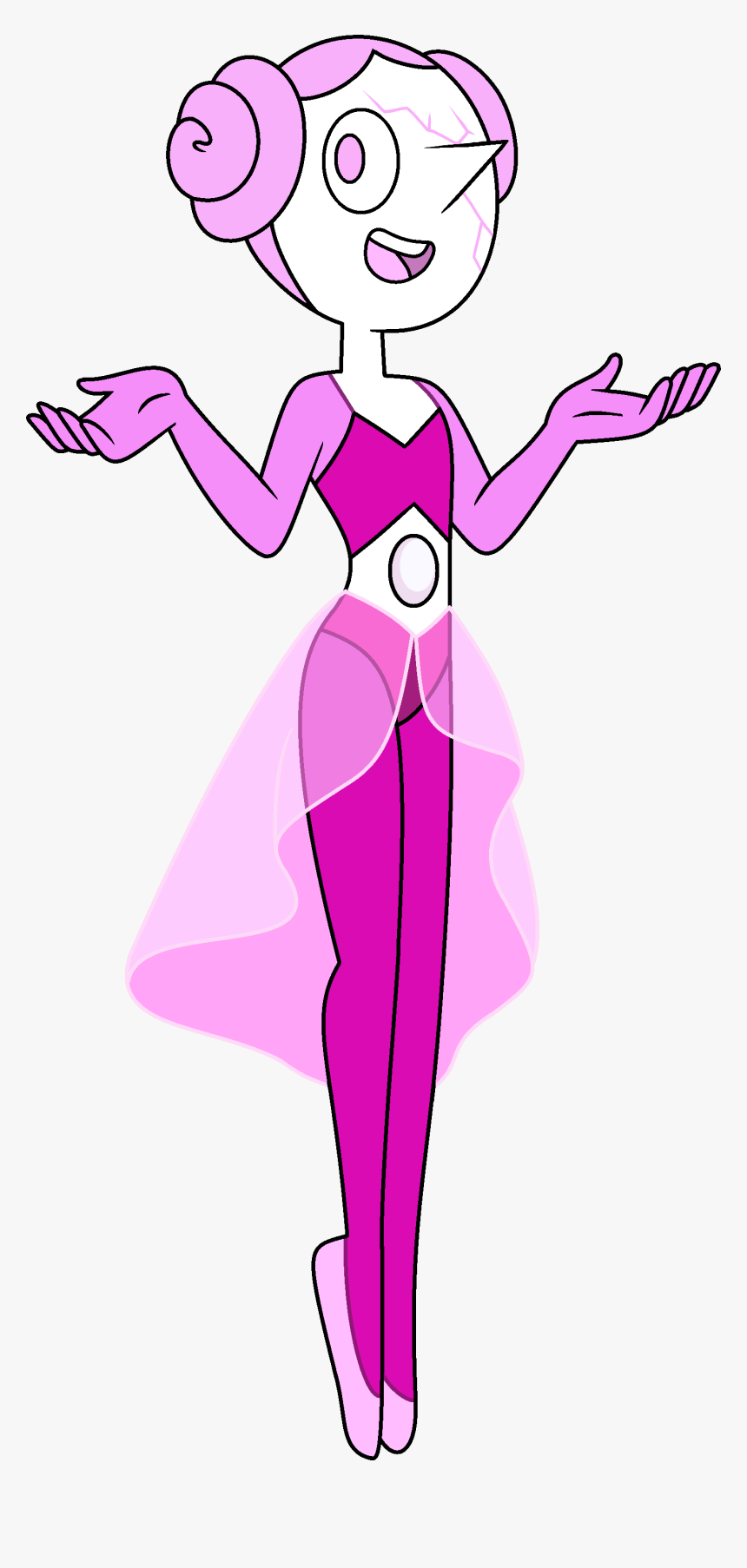 Pink Pearl Png - Pink Pearl Steven Universe, Transparent Png, Free Download