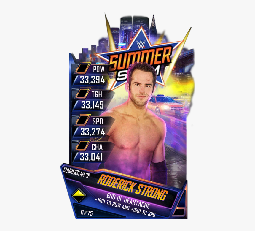 Wwe Supercard Summerslam 18 Cards, HD Png Download, Free Download