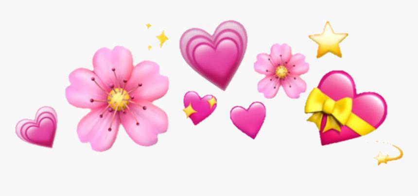 Heart Emoji Crown Transparent, HD Png Download, Free Download