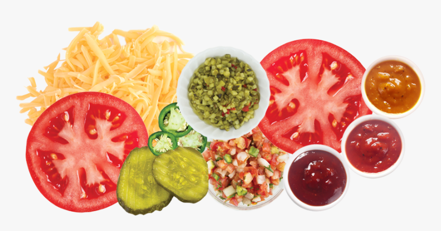Fresh Toppings - Veg Fast Food Png, Transparent Png, Free Download