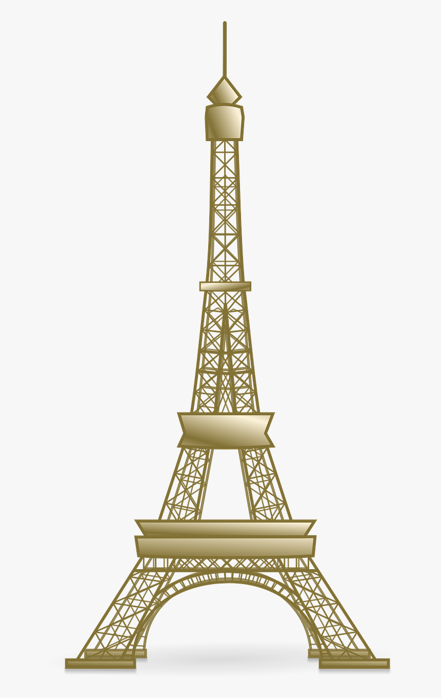 Eiffel Tower Svg Clip Arts - Eiffel Tower Clipart Png, Transparent Png, Free Download