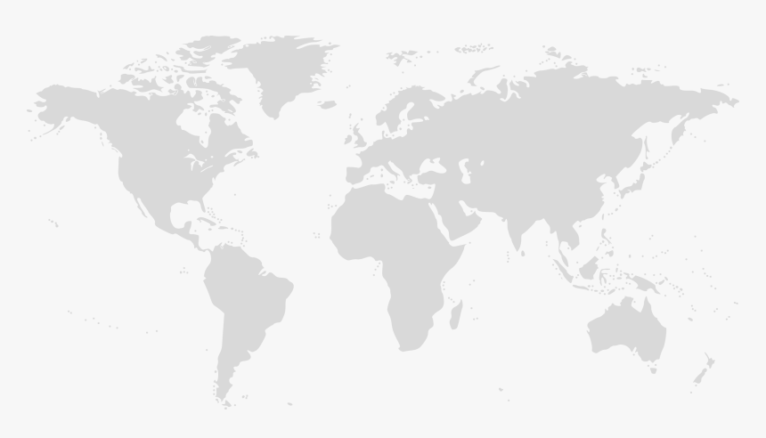 Blank Color World Map, HD Png Download, Free Download