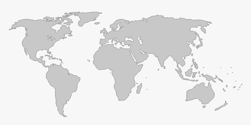 Transparent World Map With Borders Png - Ottoman Empire In ...