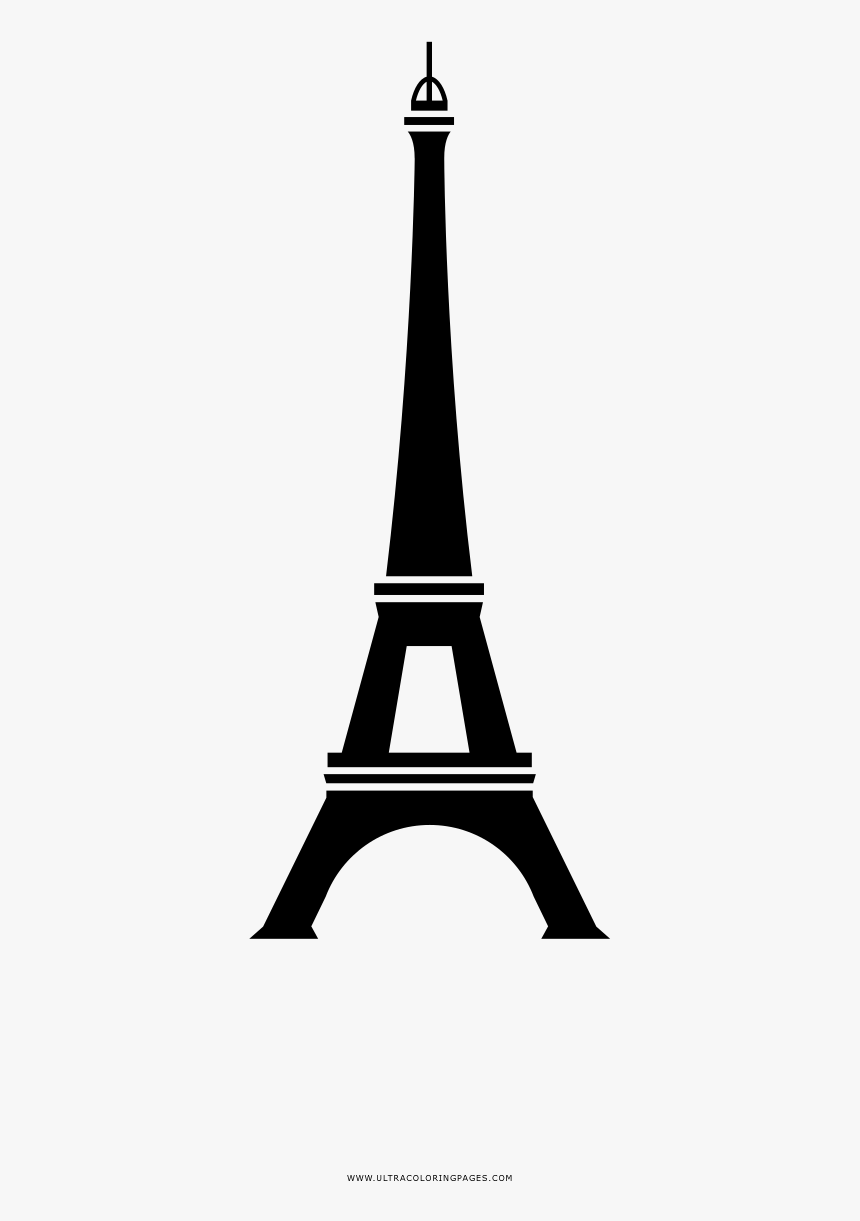 Eiffel Tower Coloring Pages | Coloring books, Cute coloring pages ... | 1221x860