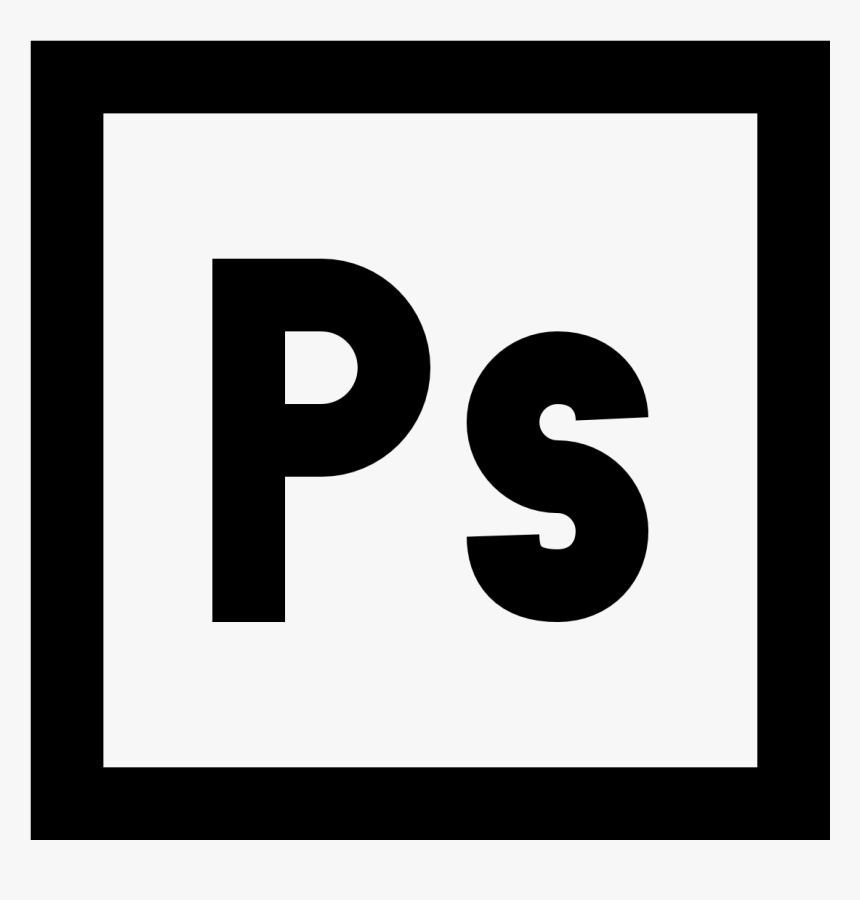 Photoshop Logo Png Adobe Illustrator White Icon Transparent Png