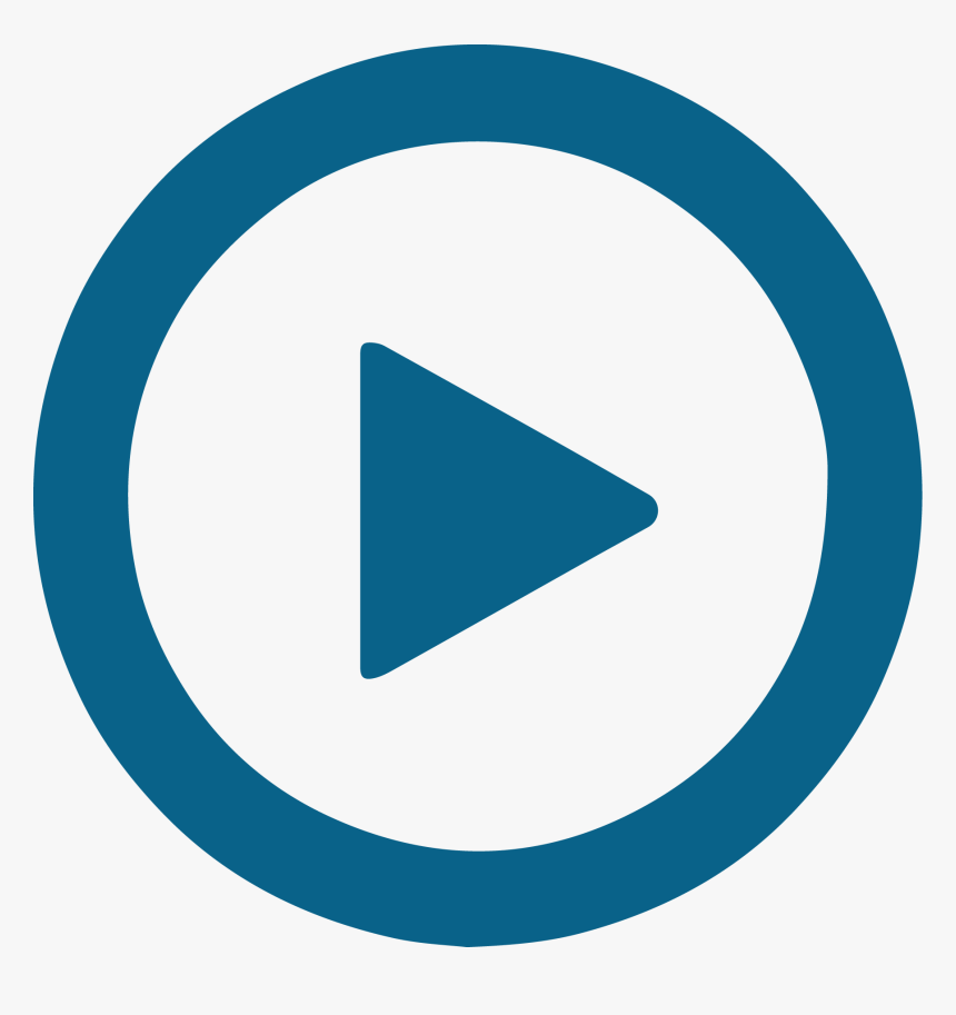 Blue Play Button - ื Number 2 Png, Transparent Png, Free Download