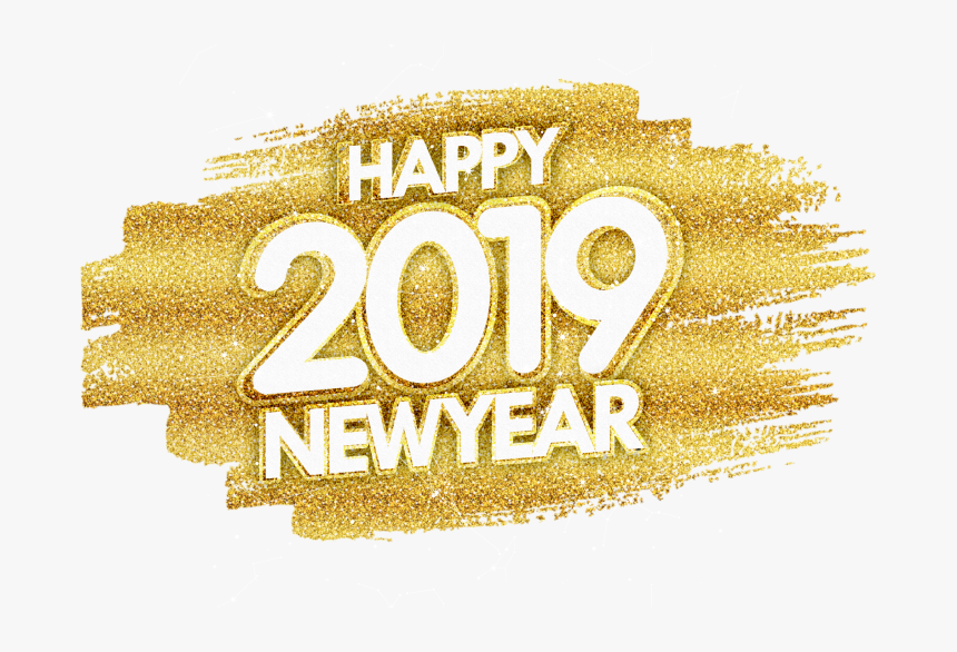 Happy New Year Gold Glitter Png Image Free Download Gold