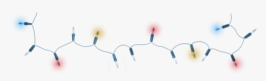 Download Christmas Lights Png Pic - Christmas Lights Wire Png, Transparent Png, Free Download