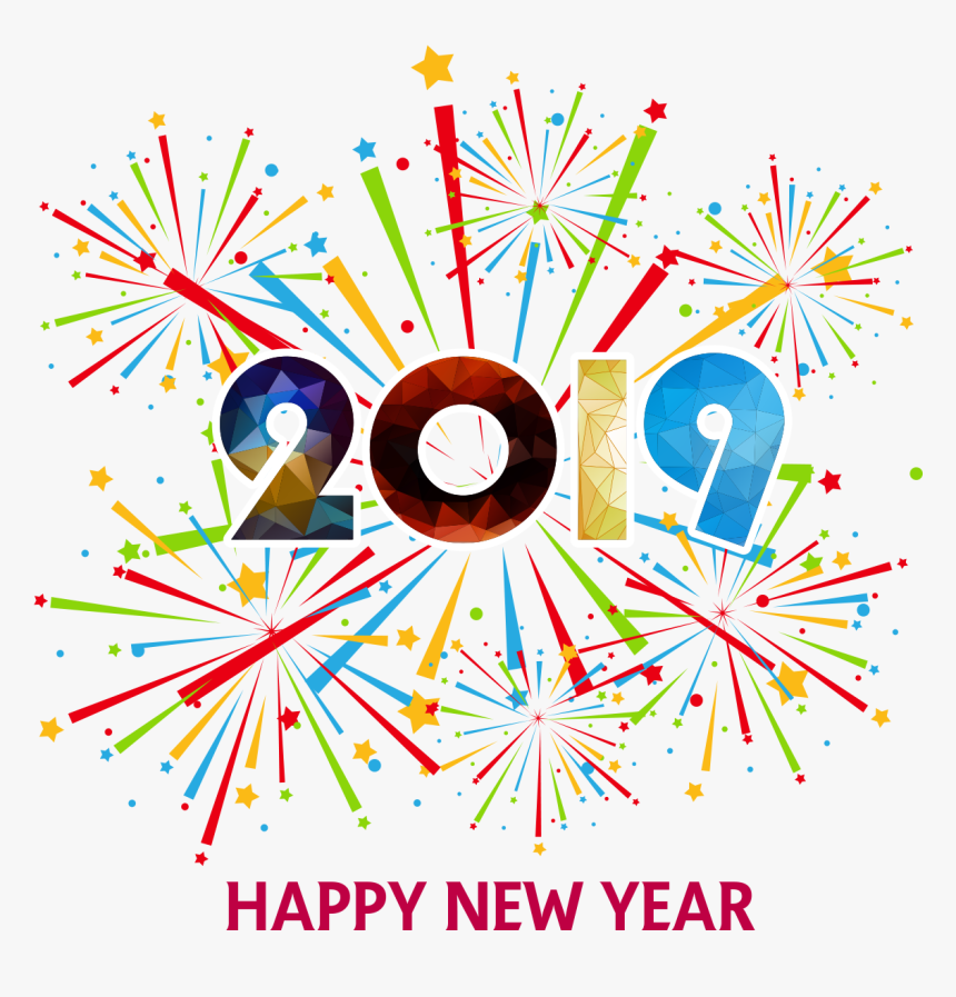 10 Black and White New Year Clipart - The Graphics Fairy