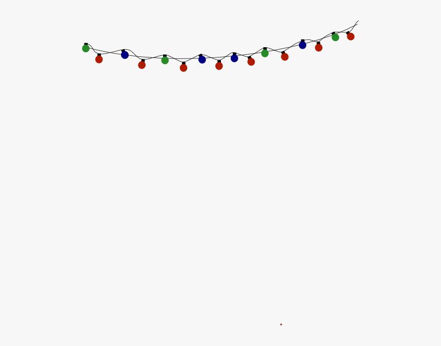 Christmas Lights Svg Clip Arts - Christmas Lights Png, Transparent Png, Free Download