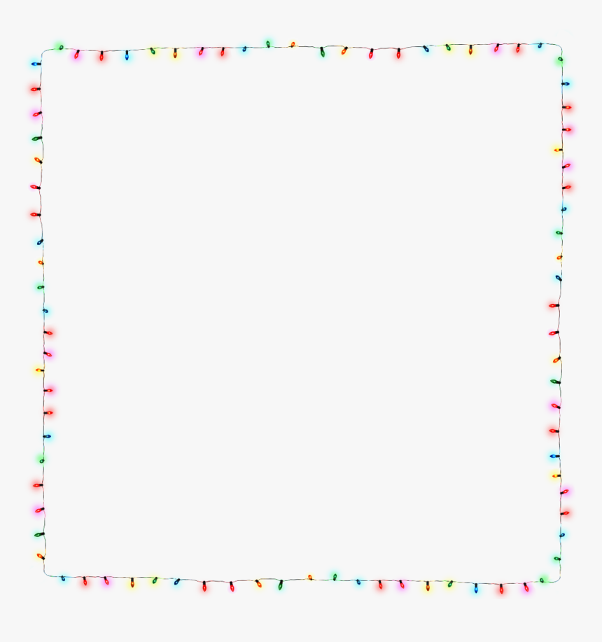 Png Christmas Lights Free Download - Paper, Transparent Png, Free Download