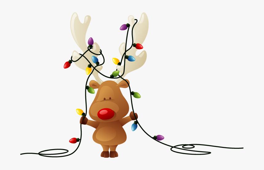 Transparent Chrismas Lights Png - Transparent Cartoon Christmas Lights, Png Download, Free Download
