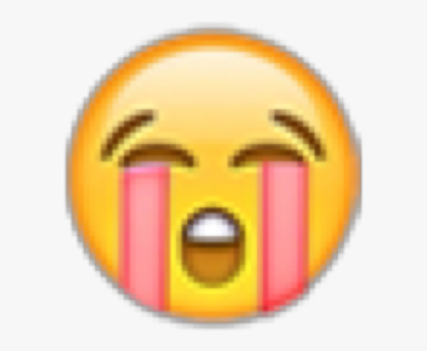 Transparent Cry Face Emoji Png - Baby Crying Emoji Transparent, Png Download, Free Download