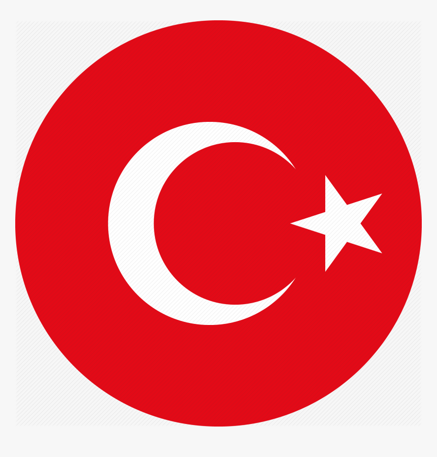 Turkish Icon Png Clipart Computer Icons Social Media - Transparent Turkey Flag Icon, Png Download, Free Download