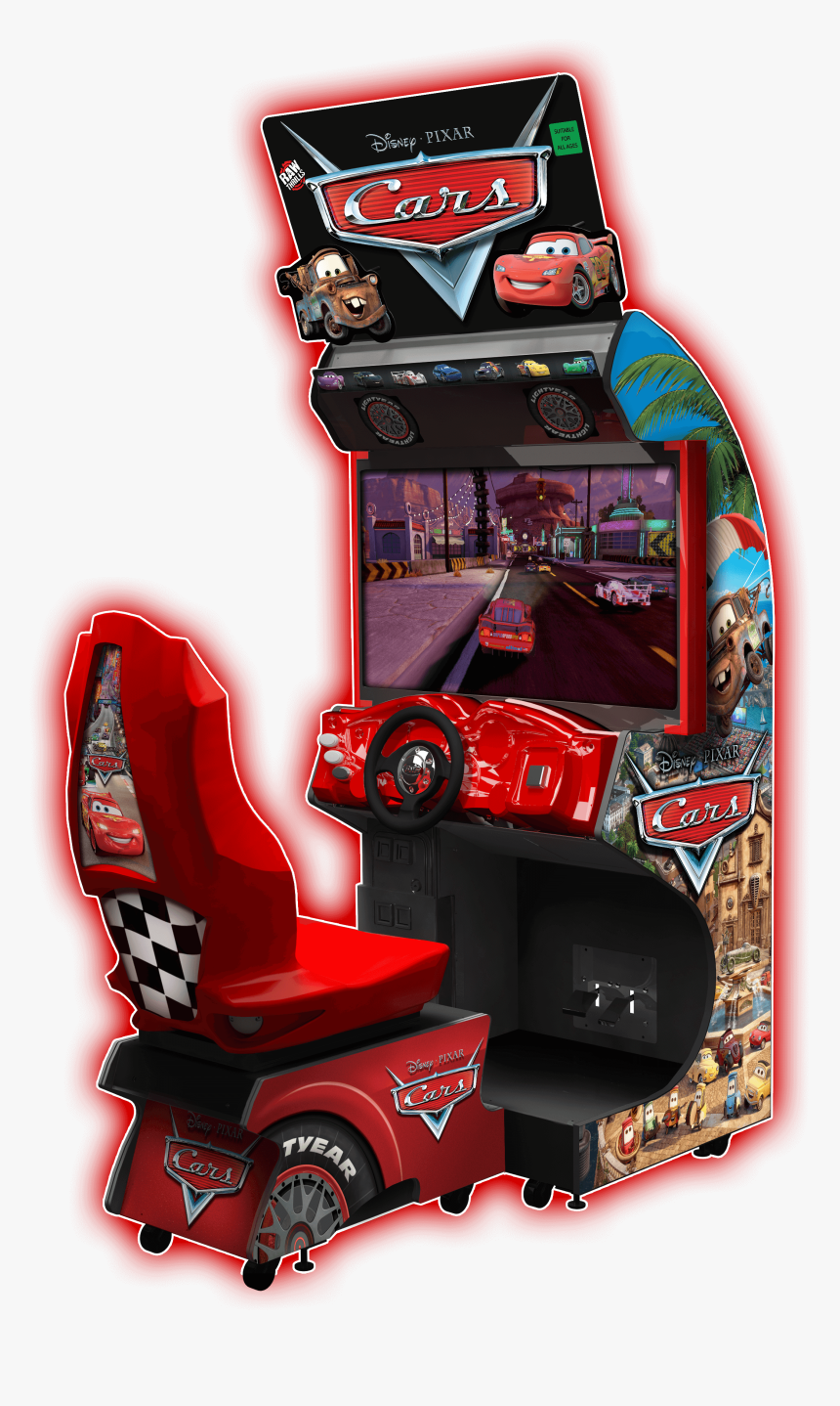 Cars 2 Arcade Raw Thrills, HD Png Download, Free Download