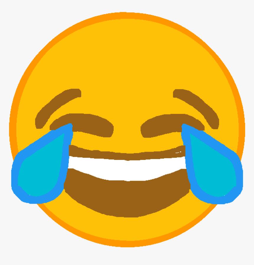 Laugh Cry Emoji Png - Laughing Emoji Transparent Png, Png Download, Free Download