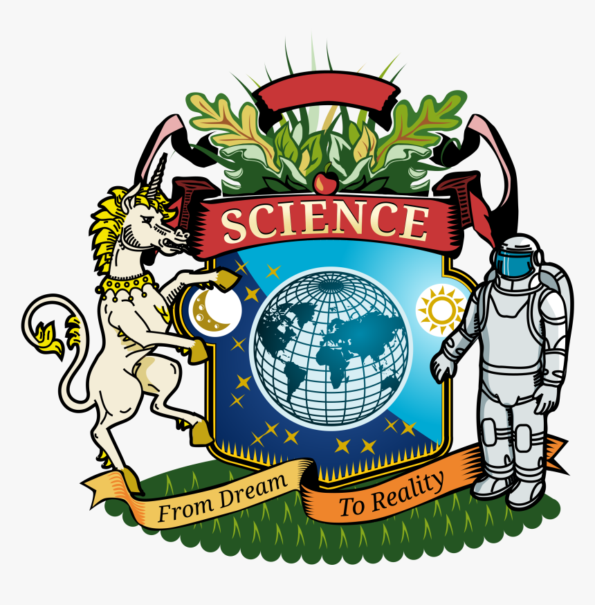 Science Clipart Coat - Science Coat Of Arms, HD Png Download, Free Download