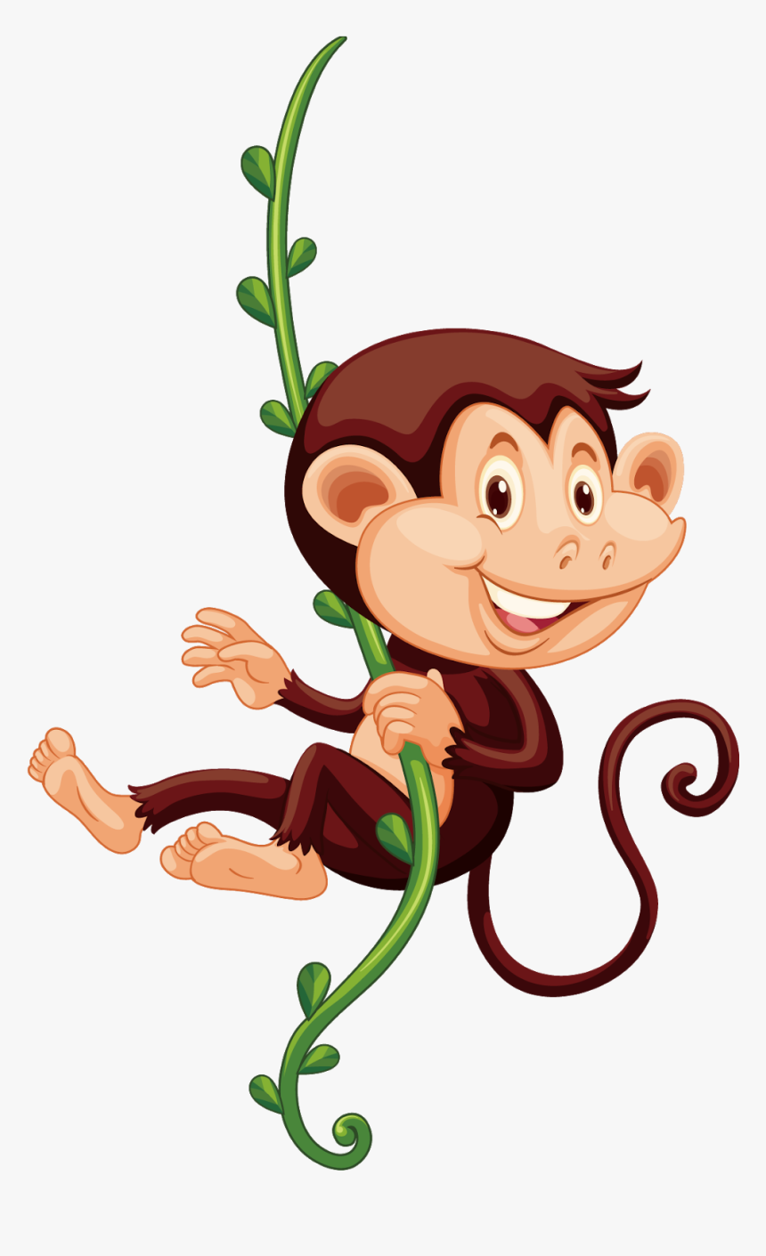 Monkeys In The Zoo Clipart, HD Png Download, Free Download