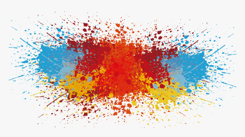Vector Splash Of Paint Png Download - Color Splash Vector Png, Transparent Png, Free Download