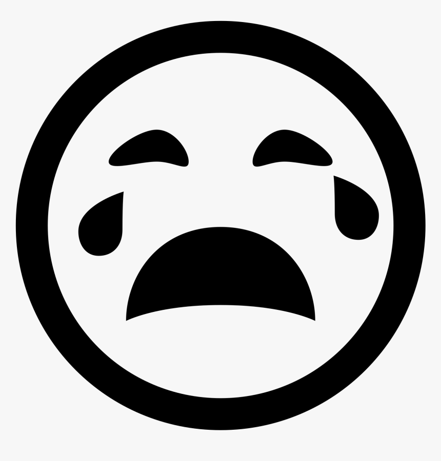 Crying Face Icon Png, Transparent Png, Free Download