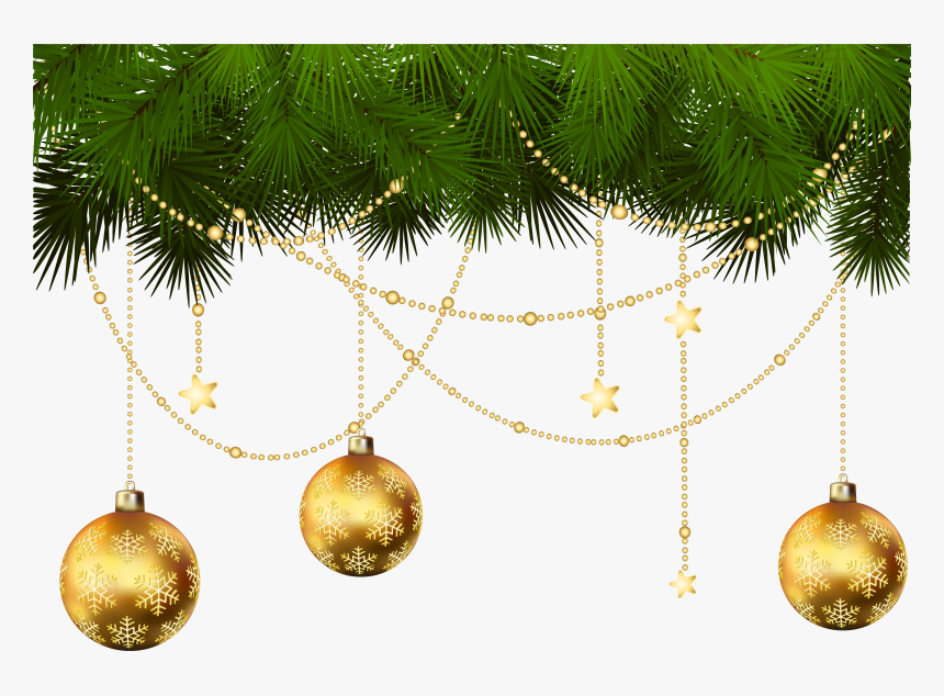 Transparent Christmas Ornament Clip Art Christmas Decorations Transparent Background Hd Png Download Kindpng